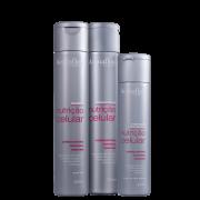 Acquaflora Nutrição Celular Shampoo+Condicionador 300ml+Hidrat. S/Enxague 240ml