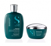 Alfaparf Semi Di Lino Reconstruction Reparative Shampoo 250ml+Máscara 200ml