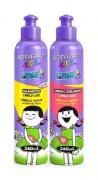 Kit Bio Extratus Kids shampoo + condicionador cabelo liso