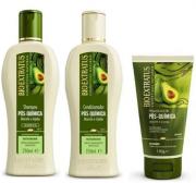 Bio Extratus Pós-Química Shampoo+Condicionador 250ml+Finalizador 150ml