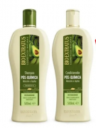 Kit Bio Extratus Pós - Química shampoo 500ml+ condicionador 500ml