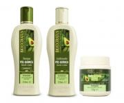 Kit Bio Extratus Pós - Química shampoo + condicionador + máscara 250ml