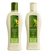 Kit Bio Extratus shampoo + condicionador pós - química 250ml
