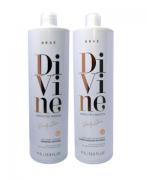 Kit Brae Divine Shampoo e Condicionador 1L