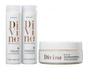 Braé Divine Shampoo e Condicionador 250ml + Máscara 200ml