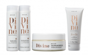 Kit Braé Divine Shampoo e Condicionador 250ml + Máscara + Leave-in 200ml