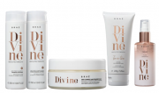 Kit Braé Divine Shampoo e Condicionador 250ml + Máscara + Leave-in 200ml + Serum Plume 60ml