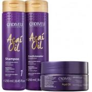 Kit Cadiveu Professional Açaí Oil - Shampoo + Condicionador e Máscara