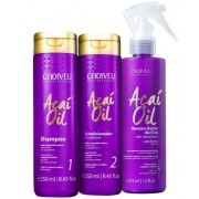 Kit Cadiveu Professional Açaí Oil Shampoo + Condicionador +Leave In