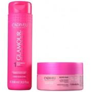 Cadiveu Professional Glamour Glossy Rubi Shampoo 250ml+Mascara 200ml