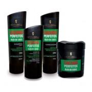 Kit Completo Hidrabell Cachos Perfeitos - Shampoo e Condicionador + Máscara + Leaving