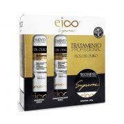 Kit Eico Fios de Ouro Shampoo + Condicionador + Máscara
