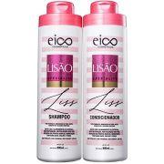 Kit Eico - Lisão Shampoo 800ml+Condicionador 800ml