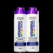 Kit Eico - Vitamina Capilar Shampoo 800ml+Condicionador 800ml