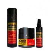 Hidrabell Antiqueda Fortalecedora Shampoo+Mascara+Spray Condicionante