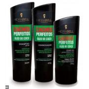 Kit Hidrabell Cachos Perfeitos - Shampoo e Condicionador + Leaving