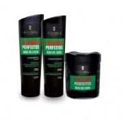Kit Hidrabell Cachos Perfeitos - Shampoo e Condicionador + Máscara