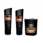 Kit Hidrabell Força da Terra - Shampoo e Condicionador +Máscara