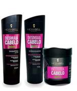 Kit Hidrabell Liso Abacate - Shampoo e Condicionador + Máscara