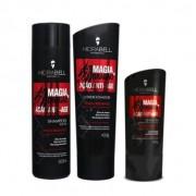 Kit Hidrabell Magia de Dragão - Shampoo e Condicionador + Leaving