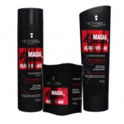 Kit Hidrabell Magia de Dragão - Shampoo e Condicionador + Máscara