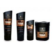 Kit Hidrabell Força da Terra - Shampoo e Condicionador + Máscara + Leaving