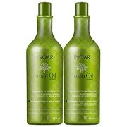 Kit Inoar Shampoo + Condicionador Argan Oil System 1000ml