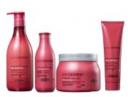 Kit L'Oréal Professionnel Pro Longer Preenchimento de Pontas Cabelos Finos 4 Produtos
