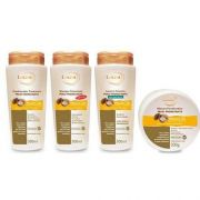 Kit Lacan Maxi Hidratante Argan 4 Produtos
