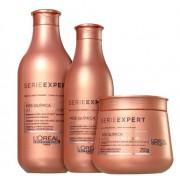 Kit Loréal Professionnel Shampoo + Condicionador + Máscara Absolut Repair Pós-química