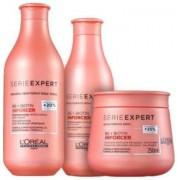 Kit Loréal Professionnel Shampoo + Condicionador + Máscara Inforcer