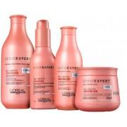 Kit Loréal Professionnel Shampoo + Condicionador + Máscara + Leave-in Inforcer