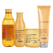 Kit Loréal Professionnel Shampoo + Condicionador + Máscara + Leave-in Nutrifier