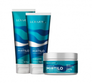 Kit Lowell Extrato de Mirtilo 200ml - Shampoo e Condicionador + Máscara