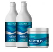 Kit Lowell Mirtilo - Shampoo e Condicionador + Máscara