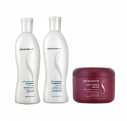 Kit Senscience Silk Moisture Shampoo + Condicionador 300ml + Máscara Inner Restore Intensif 150ml