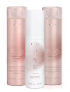 Shampoo + Condicionador 250ml + Leave-in Brae Revival 200ml
