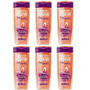 Kit Shampoo Elseve Liso dos Sonhos 400ml (6 Unidades )