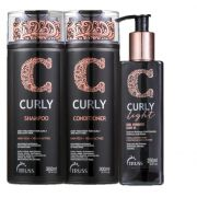 Kit Truss Curly Low Poo Trio Light (3 Produtos)