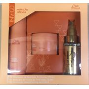 Kit wella nutri enrich shampoo 250ml e mascara 150ml + Luxe Oil 100ml