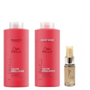 Kit Wella Professionals Invigo Color Brilliance com Oleo SP LuxeOil 30ml
