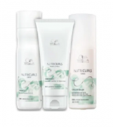 Wella Professionals Nutricurls Shampoo 250ml+Condicionador 200ml+Leave-in 150ml