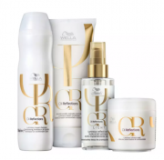 Kit Wella Professionals Oil Reflections - Shampoo e Condicionador + Máscara + Olio Light