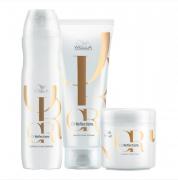 Kit Wella ProfessionalsOil Reflections - Shampoo e Condicionador + Máscara