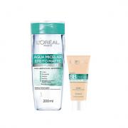 L'Oréal Paris 5 em 1 Efeito Matte Agua Micelar 200ml+BB Cream Morena FPS 50 30g