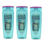 L'Oréal Paris Elseve Hydra-Detox - Shampoo Reequilibrante 3 UNID - 400ml
