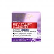 L'Oréal Paris Revitalift Hialurônico Tratamento Noturno - Creme Anti-Idade 49g