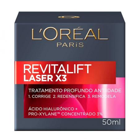 L'Oréal Paris Revitalift Laser X3 - Creme para Rugas e Anti-Idade 50ml
