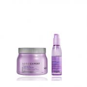 L'Oréal Professionnel Expert Liss Unlimited - Mascara 500g+Óleo Capilar 125ml