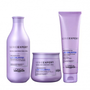 L'Oréal Professionnel Expert Liss Unlimited - Shampoo 300ml+Mascara 250g+Leave-in 150ml